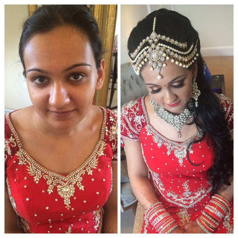 BEFORE and AFTER Bridal