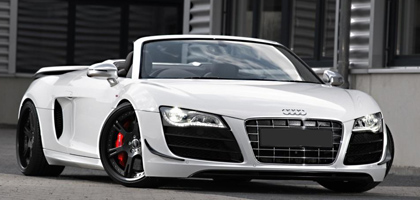 Audi R8 Spyder Wedding Car Hire