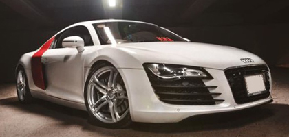 Audi R8 Wedding Car Hire