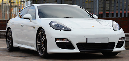 Porshce Panamera Wedding Car Hire